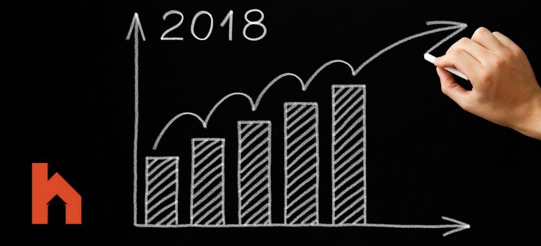 augmentation des taux hypothécaires en 2018